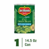 Del Monte Fresh Cut 50% Less Sodium Cut Green Beans