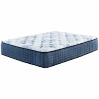 Ashley Furniture Mt Dana 15  Full Firm Memory Foam Mattress in White and Blue - 1
