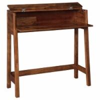 Ashley Furniture Trumore Medium Brown Console Sofa Table - 1