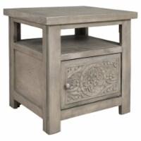 Ashley Furniture Marcilyn Rectangular Wood End Table in Brown - 1