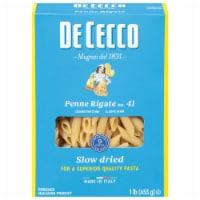 De Cecco Penne Rigate No. 41 Pasta