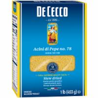 De Cecco Enriched Macaroni Acini Di Pepe