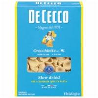 De Cecco Orecchiette Macaroni Product