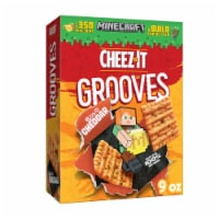 Cheez-It Grooves Crunchy Cheese Snack Crackers Original Cheddar