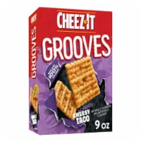 Cheez-It Grooves Crunchy Cheese Snack Crackers Loaded Cheesy Taco