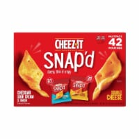 Cheez-It Snap'd, Variety Pack (0.75 Ounce, 42 Pack) - 1 unit