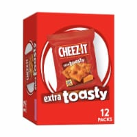 Cheez-It Extra Toasty Baked Snack Crackers 12 Count