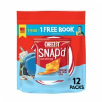 Cheez-It Snap'd Cheddar Sour Cream and Onion Baked Snacks - 12 ct / 0.75 oz