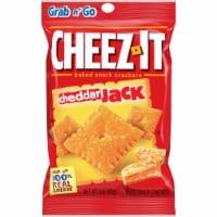Cheez-It Cheddar Jack Crackers - 3 oz. bag, 36 per case - 6-6-3 OUNCE