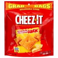 Cheez-It Cheddar Jack Crackers - 7 oz. grab bag, 6 per case - 6-7 OUNCE