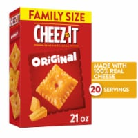 Cheez-It Baked Snack Cheese Crackers Original Family Size