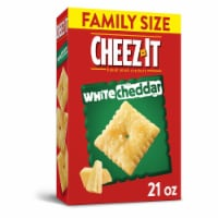 Cheez-It Baked Snack Cheese Crackers White Cheddar Family Size