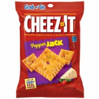 Cheez It Pepper Jack Snack, 3 Ounce -- 36 per case. - 6-6-3 OUNCE
