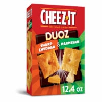 Cheez-It Duoz Baked Snack Cheese Crackers Sharp Cheddar & Parmesan