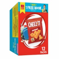 Cheez-It Original Baked Snack Crackers Packs 12 Count