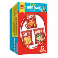 Cheez-It Baked Snack Crackers Variety Pack 12 Count