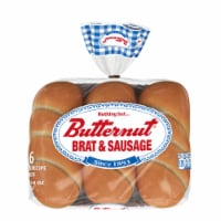 Butternut Brat & Sausage Rolls 6 Count