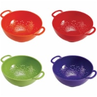 Farberware 6009327 6 Assorted Plastic Mini Colander