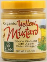 Eden Foods  Organic Yellow Mustard Jar