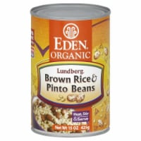 Eden Organic Brown Rice & Pinto Beans