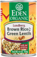 Eden Organic Brown Rice & Green Lentils