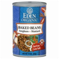 Eden Organic Baked Beans with Sorghum and Mustard