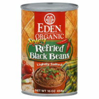 Eden Organic Spicy Refried Black Beans