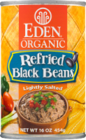 Eden Organic Refried Black Beans