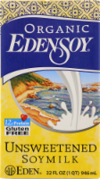 Organic Edensoy Unsweetened Soy Milk