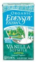 Eden Foods  Organic EdenSoy® Extra Soy Milk   Vanilla