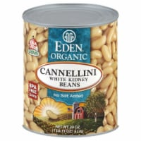 Food 4 Less Eden Organic Cannellini White Kidney Beans 29 Oz