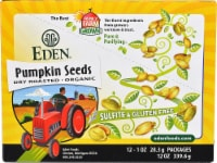 Eden Foods  Pocket Snacks™ Organic Pumpkin Seeds Dry Roasted