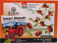 Eden Foods  Pocket Snacks Tamari Almonds