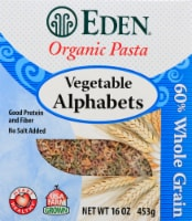 Eden Organic Vegetable Alphabets Pasta