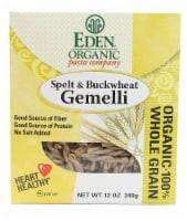 Eden Foods  Organic Pasta Company Spelt & Buckwheat Gemelli