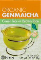 Eden Organic Genmaicha Green Tea Bags
