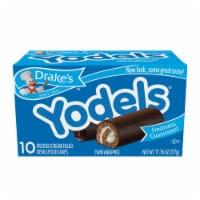 Drake's™ Yodels Frosted Creme Filled Devils Food Cakes - 10 ct / 1.1 oz