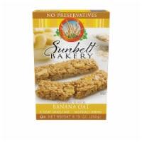 Sunbelt Bakery Natural Banana Oat Chewy Granola Bars