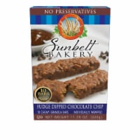 Sunbelt Bakery Fudge Dipped Chocolate Chip Chewy Granola Bars