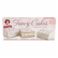 Little Debbie Fancy Cakes Creme Filled White Cake 10 Count