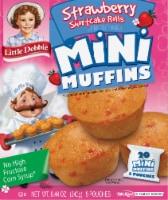 Little Debbie Strawberry Shortcake Mini Muffins - 5 ct / 1.68 oz