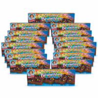 Cosmic Brownies, 16 Boxes, 96 Individually Wrapped Brownies With a Candy Coating - 96