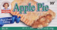 Little Debbie Apple Pie - 4 oz