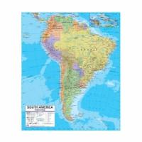 Universal Map 762547057 South America Advanced Political Deskpad Map Set
