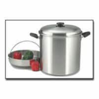 Precise Heat 30qt Waterless Stock Pot with Steamer Basket