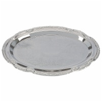 Sterlingcraft Silver Finish Serving Tray 9 x 6 inches - 1