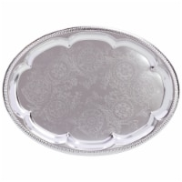 Sterlingcraft Oval Serving Tray