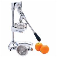 Maxam KTJUICE6 10 1/4'' Heavy Duty Professional Juicer - Chrome