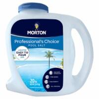 Morton Salt Professionals Choice Pool Salt Quicker Dissolve Granule Pool Salt 20 lb. - Case - Count of: 1