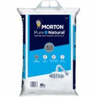 Morton Pure & Natural Water Softener Crystals - 40 lb